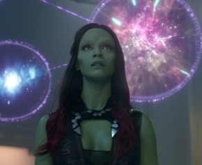 Marvel's Guardians Of The Galaxy Gamora (Zoe Saldana). Ph: Film Frame ©Marvel 2014