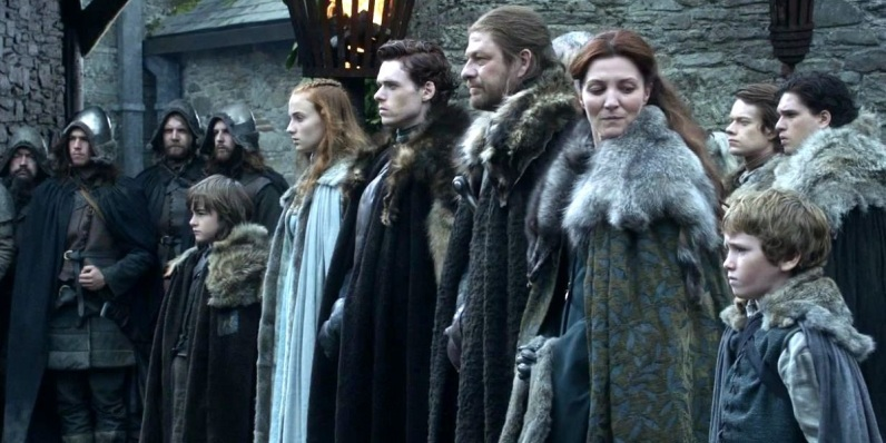 the-stark-family-in-game-of-thrones